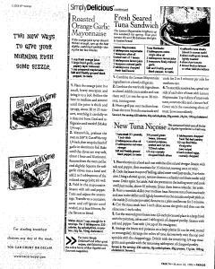 Syracuse Post Standard, March 26, 2006, Page 187