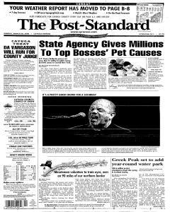 Syracuse Post Standard, March 26, 2006, Page 197