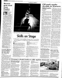 Syracuse Post Standard, March 26, 2006, Page 224
