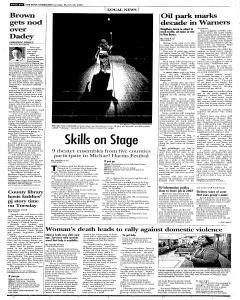 Syracuse Post Standard, March 26, 2006, Page 254