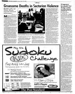 Syracuse Post Standard, March 26, 2006, Page 296
