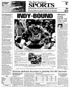 Syracuse Post Standard, March 26, 2006, Page 31