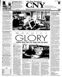 Syracuse Post Standard, March 26, 2006, Page 83