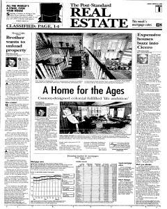 Syracuse Post Standard, March 26, 2006, Page 91