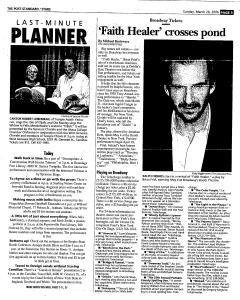 Syracuse Post Standard, March 26, 2006, Page 114