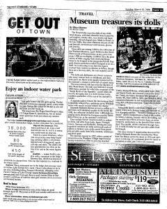 Syracuse Post Standard, March 26, 2006, Page 129
