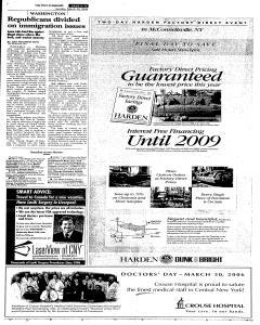 Syracuse Post Standard, March 26, 2006, Page 241
