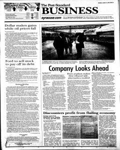 Syracuse Post Standard, August 16, 2008, Page 14