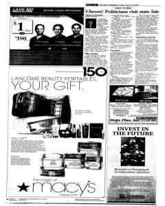Syracuse Post Standard, August 24, 2008, Page 290