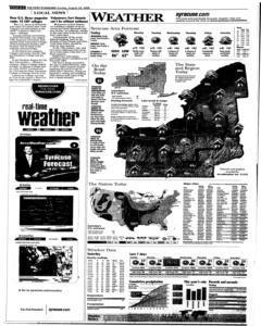 Syracuse Post Standard, August 24, 2008, Page 294