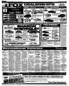 Syracuse Post Standard, August 24, 2008, Page 315