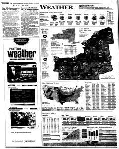 Syracuse Post Standard, August 24, 2008, Page 26