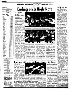 Syracuse Post Standard, August 24, 2008, Page 32