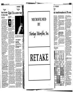Syracuse Post Standard, August 24, 2008, Page 131
