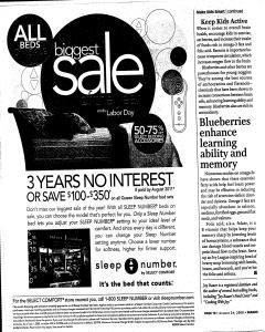 Syracuse Post Standard, August 24, 2008, Page 170