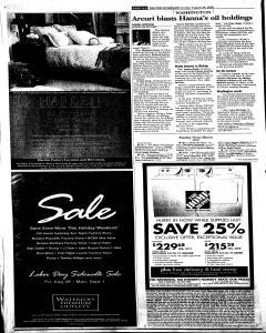 Syracuse Post Standard, August 24, 2008, Page 186