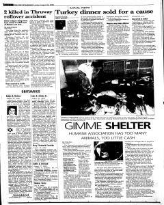 Syracuse Post Standard, August 24, 2008, Page 204