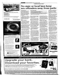 Syracuse Post Standard, August 24, 2008, Page 272