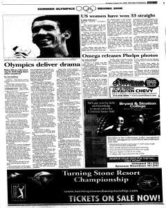 Syracuse Post Standard, August 24, 2008, Page 33
