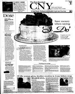 Syracuse Post Standard, August 24, 2008, Page 92