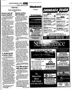 Syracuse Post Standard, August 24, 2008, Page 122