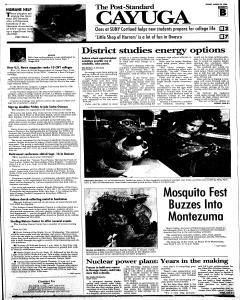 Syracuse Post Standard, August 24, 2008, Page 199