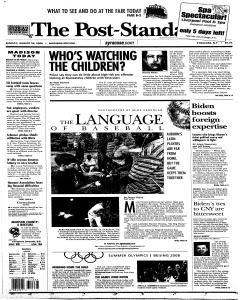 Syracuse Post Standard, August 24, 2008, Page 233