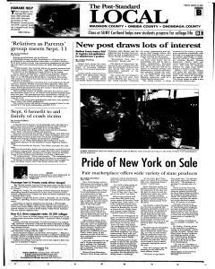 Syracuse Post Standard, August 24, 2008, Page 251