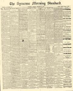 Syracuse Standard, February 16, 1881, Page 1