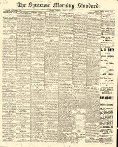 Syracuse Standard, August 03, 1881, Page 1