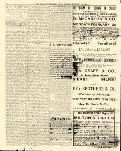 Syracuse Standard, February 29, 1884, Page 8