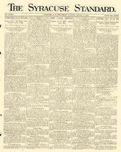 Syracuse Standard, August 06, 1884, Page 1