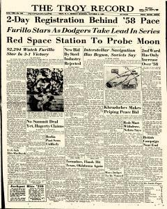 Troy Record, October 05, 1959, Page 1