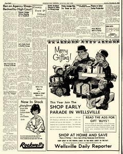 Wellsville Daily Reporter, December 02, 1963, Page 8
