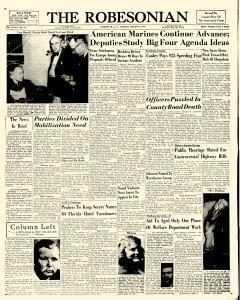 Robesonian, March 06, 1951, Page 1