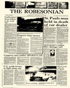 Robesonian, July 16, 1986, Page 1