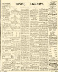 Weekly Standard, August 15, 1860, Page 1