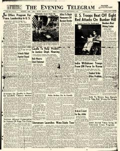 Evening Telegram, September 05, 1952, Page 1