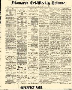 Bismarck Weekly Tribune, March 12, 1878, Page 1