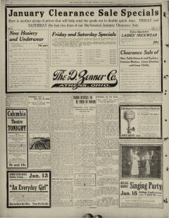 Athens Daily Messenger, January 11, 1912, Page 16