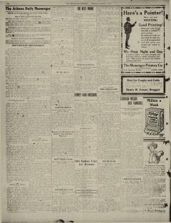 Athens Daily Messenger, January 18, 1912, Page 8