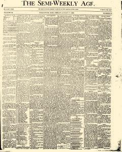 Coshocton Semi Weekly Age, August 17, 1888, Page 1