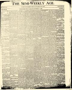 Coshocton Semi Weekly Age, September 11, 1888, Page 1