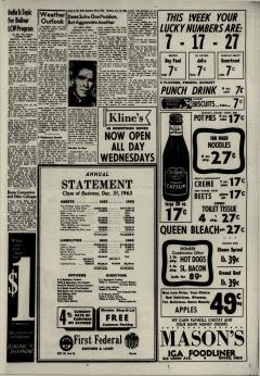 Dover Daily Reporter, January 13, 1964, p. 5