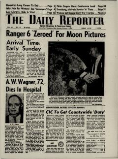 Dover Daily Reporter, February 01, 1964, Page 1