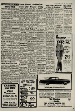 Dover Daily Reporter, February 11, 1964, Page 3
