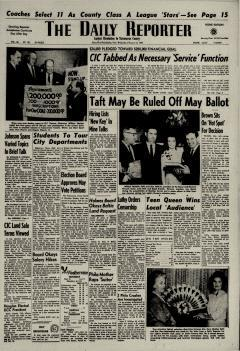Dover Daily Reporter, February 12, 1964, Page 1