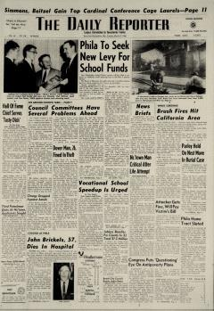 Dover Daily Reporter, March 17, 1964, Page 1