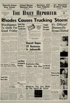 Dover Daily Reporter, March 26, 1964, Page 1