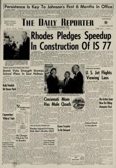 Dover Daily Reporter, May 22, 1964, Page 1